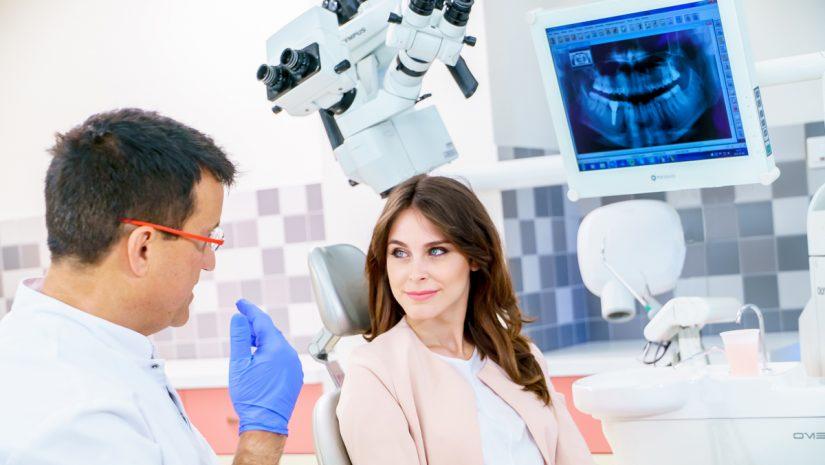 Konsultacja u dentysty